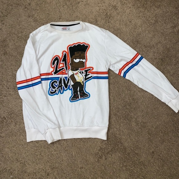 db2ce8cda22f 21 Savage Sweatshirt 💧🔥. M 5bbd891145c8b329ee3526cd. Other Shirts you may  like. Supreme hoodie